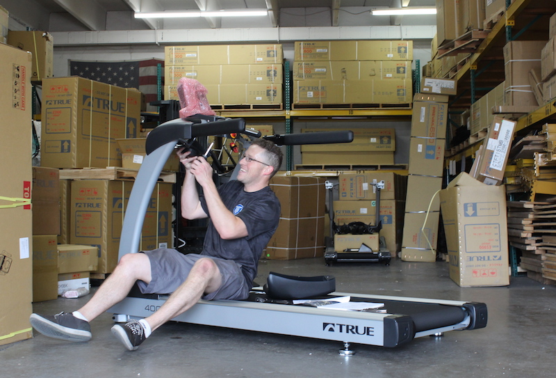 Service and Equipment Repair at Fitness Gallery