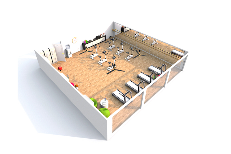 Commercial Gym Layout and Design by Fitness Gallery