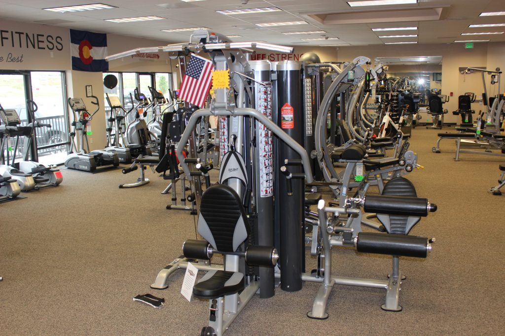 Strength equipment and Home Gyms at Highlands Ranch Store - Fitness Gallery