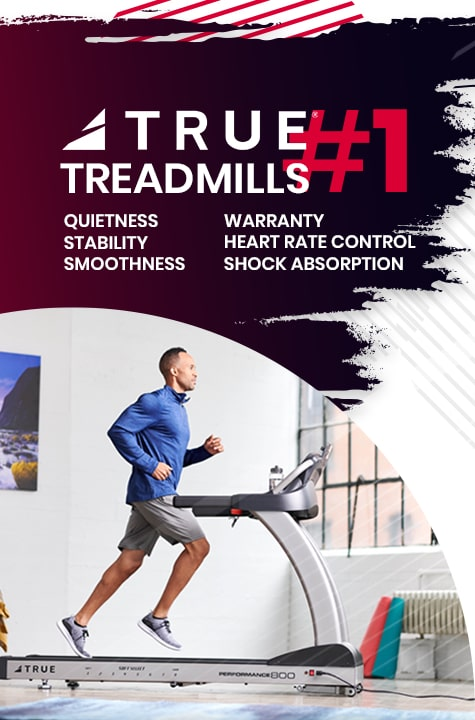 TRUE Fitness Treadmills are Number 1 - Shop Fitness Gallery