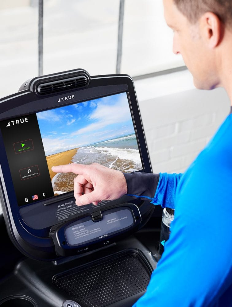 TRUE Fitness Commercial Treadmill Console - Shop Fitness Gallery