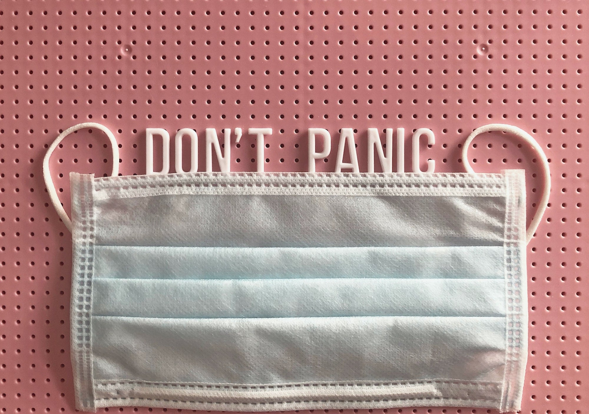 COVID 19 DONT PANIC Gym Mask for working out